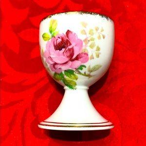 Vintage American Beauty Royal Albert egg holder